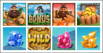 free Jackpot Giant slot game symbols