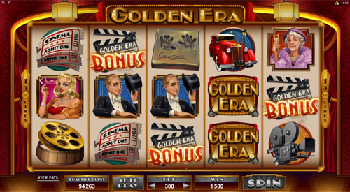 free Golden Era free spins feature
