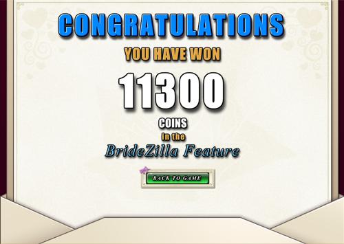 free Bridezilla free games win