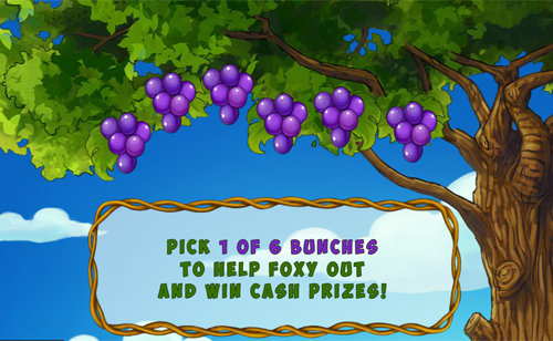 free Foxy Fortunes Lucky Grapes Bonus