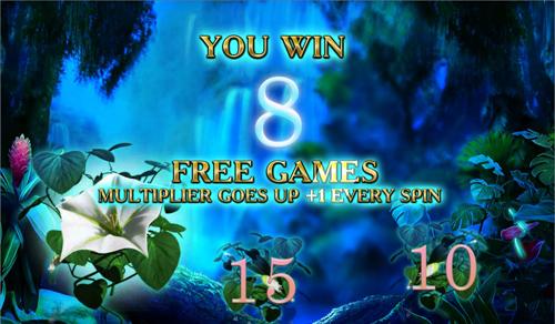 free Secrets of the Amazon Moonflower Bonus Win