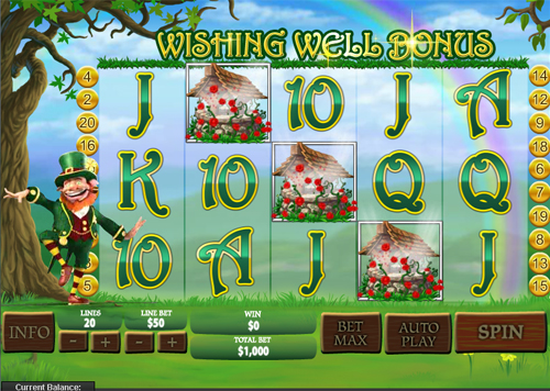 free Plenty O'Fortune Wishing Well Bonus