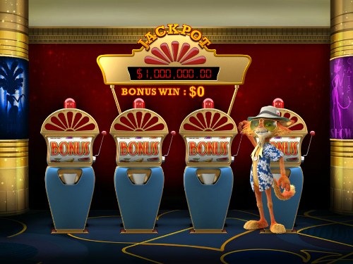 free Cat in Vegas bonus slot game