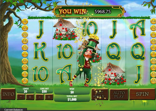 free Plenty O'Fortune Wishing Well Bonus Win