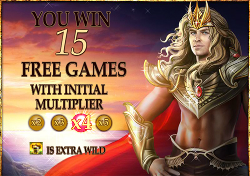 free Dragon Kingdom free spins feature