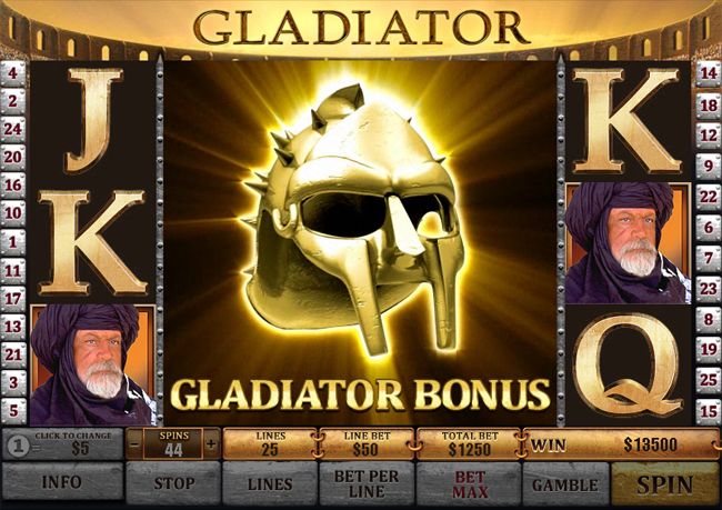 Gladiator Slots | Welcome Bonus up to $/£/€400 | Casino.com