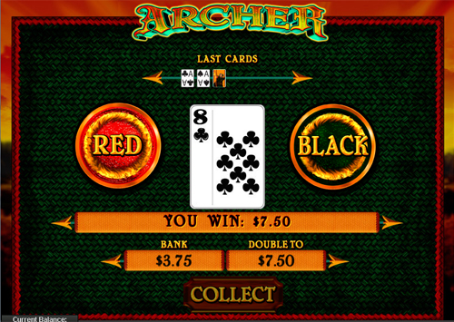 free Archer gamble feature