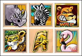 free Wild Gambler slot game symbols