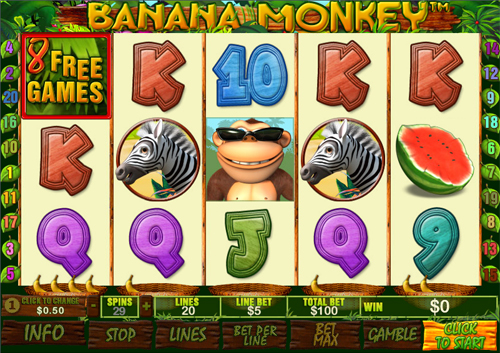 free Banana Monkey free spins feature