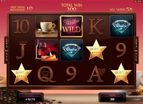 free The Finer Reels of Life free spins
