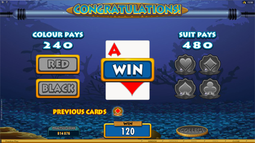 free Fish Party gamble feature