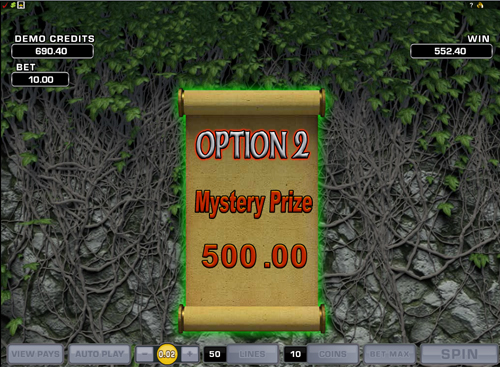 free Lucky Leprechaun's Loot bonus game win