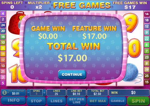 free Cute & Fluffy free games total win