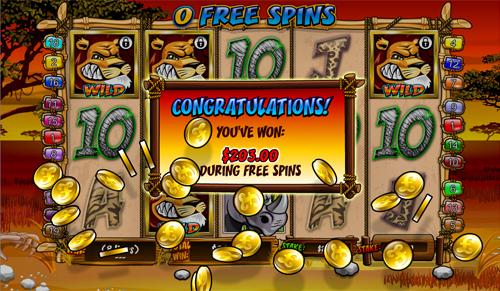free Wild Gambler 8 free games win