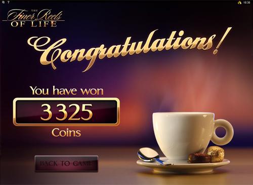 free The Finer Reels of Life Bonus Game Win