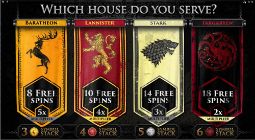 free Game of Thrones - 243 Ways free games choice