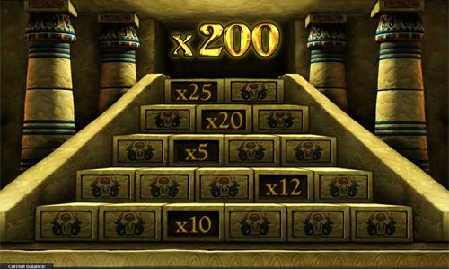 free The Pyramid of Ramsses bonus game