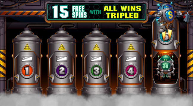 free RoboJack slot bonus feature