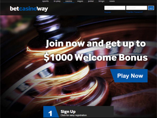 Betway Mobile Casino Home