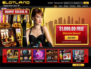 Slotland Casino Home