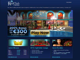 ReefClub Casino Home