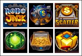 free RoboJack slot game symbols
