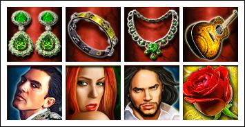 free Esmeralda slot game symbols