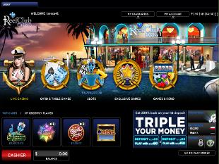 ReefClub Casino Lobby