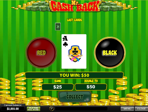 free Mr. Cashback 8 free games