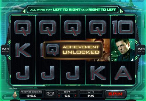 free Battlestar Galactica slot achievement