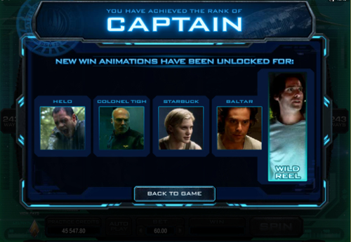 free Battlestar Galactica ranking achievement