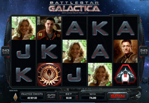 free Battlestar Galactica free games wild symbol