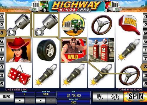 free Highway Kings Pro wild symbol