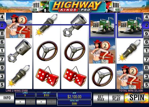free Highway Kings Pro scatter symbol