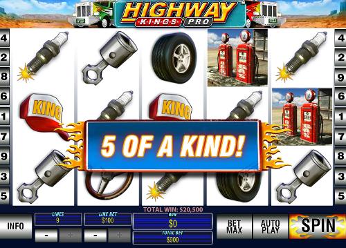 free Highway Kings Pro winning