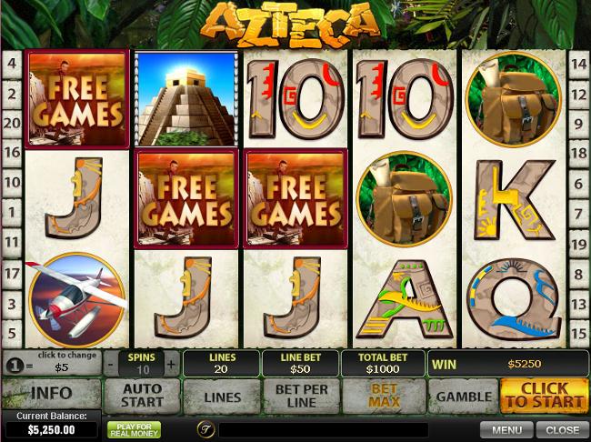 Free slots bonus games feature