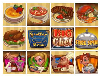 free Big Chef slot game symbols