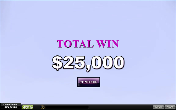 free Chippendales bonus feature win