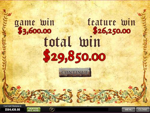 free Monty Python's Spamalot bonus feature win