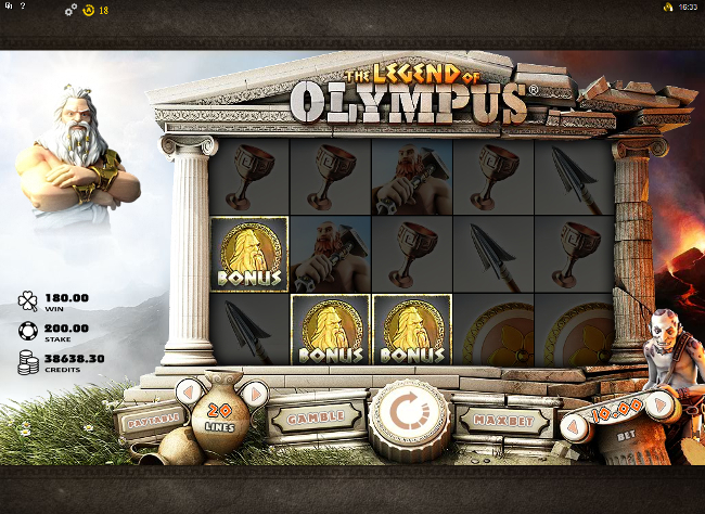The Legend of Olympus bonus feature