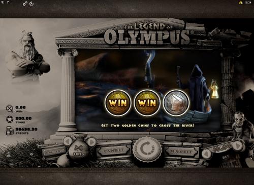 free The Legend of Olympus bonus game
