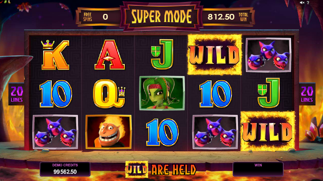 free Hot as Hades slot bonus feature