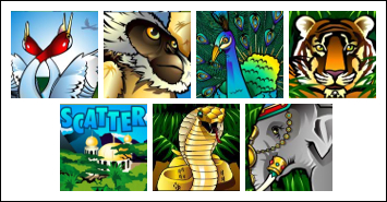 free Adventure Palace HD slot game symbols