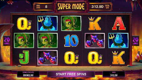 free Hot as Hades free spins