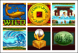 free Fortune Jump slot game symbols