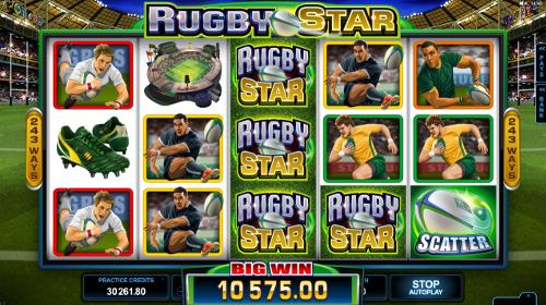 free Rugby Star b