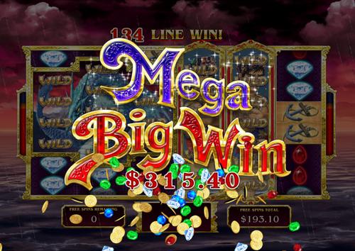 free Sinbad's Golden Voyage Mega Win