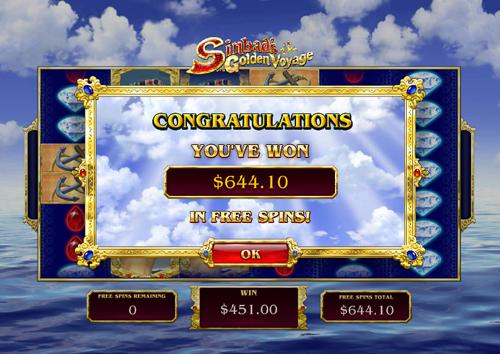 free Sinbad's Golden Voyage 8 free games