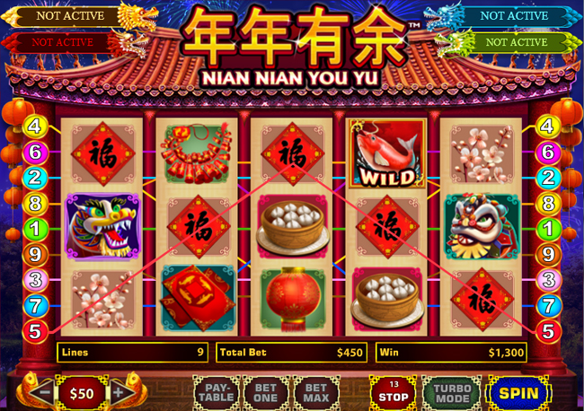 free Nian Nian You Yu slot bonus feature