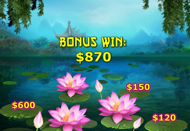 free Fei Cui Gong Zhu slot bonus feature